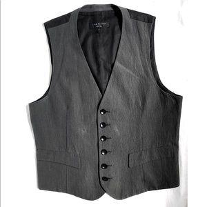 RAG & BONE🖤 Men's Linen Vest